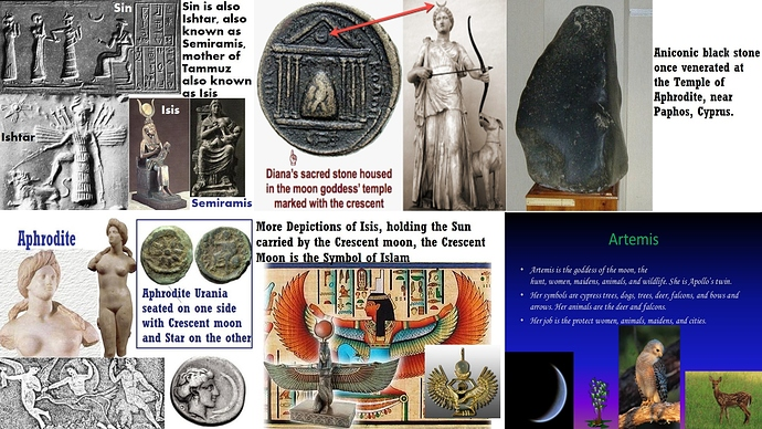 Islam and the Moon Goddess