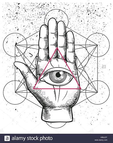 hipster-abbildung-mit-heiliger-geometrie-hand-und-alle-sehendes-auge-symbol-grosszugig-dreieck-pyramide-auge-der-vorsehung-freimaurer-symbol-grunge-esoterischen-h9njdt