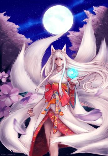 Kitsune_ahri_by_nyaruko-d6gzhe4