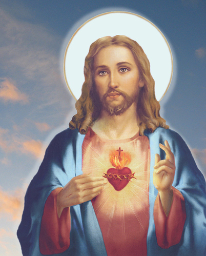 Beautiful-Jesus-Picture-With-Heart-Of-Fire-And-Halo