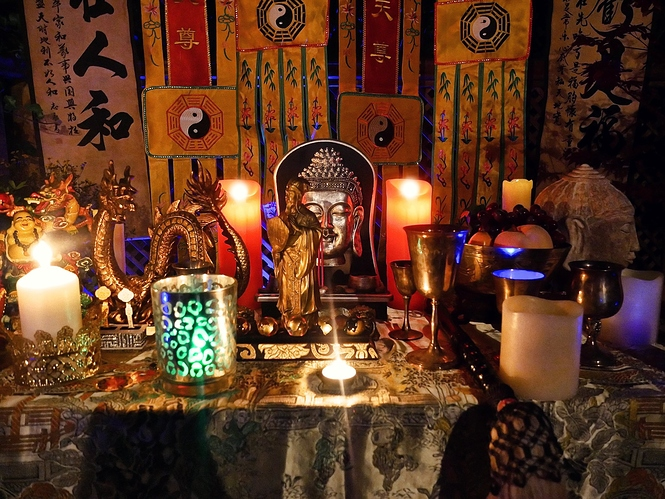 Taoist Magick Altar