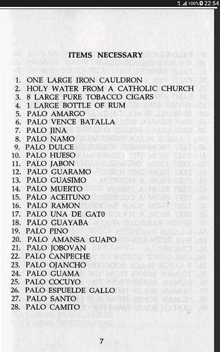 Has anyone been initiated into Palo Mayombe? - Vodoun