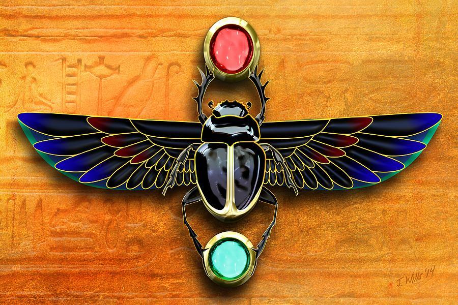 egyptian-scarab-beetle-john-wills