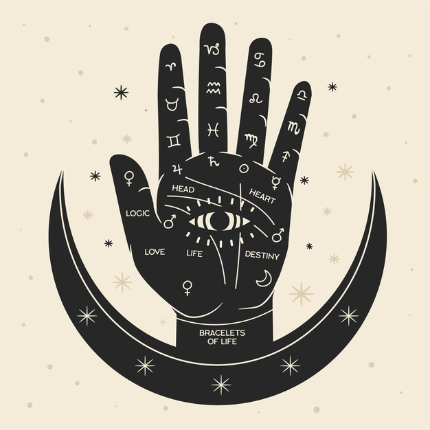 palmistry-illustration-with-hand_23-2148569922