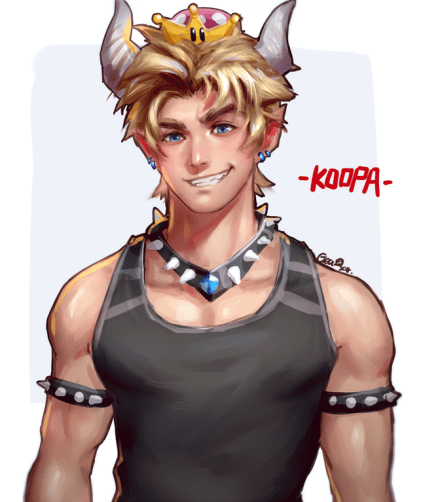 genderswapped-bowsette