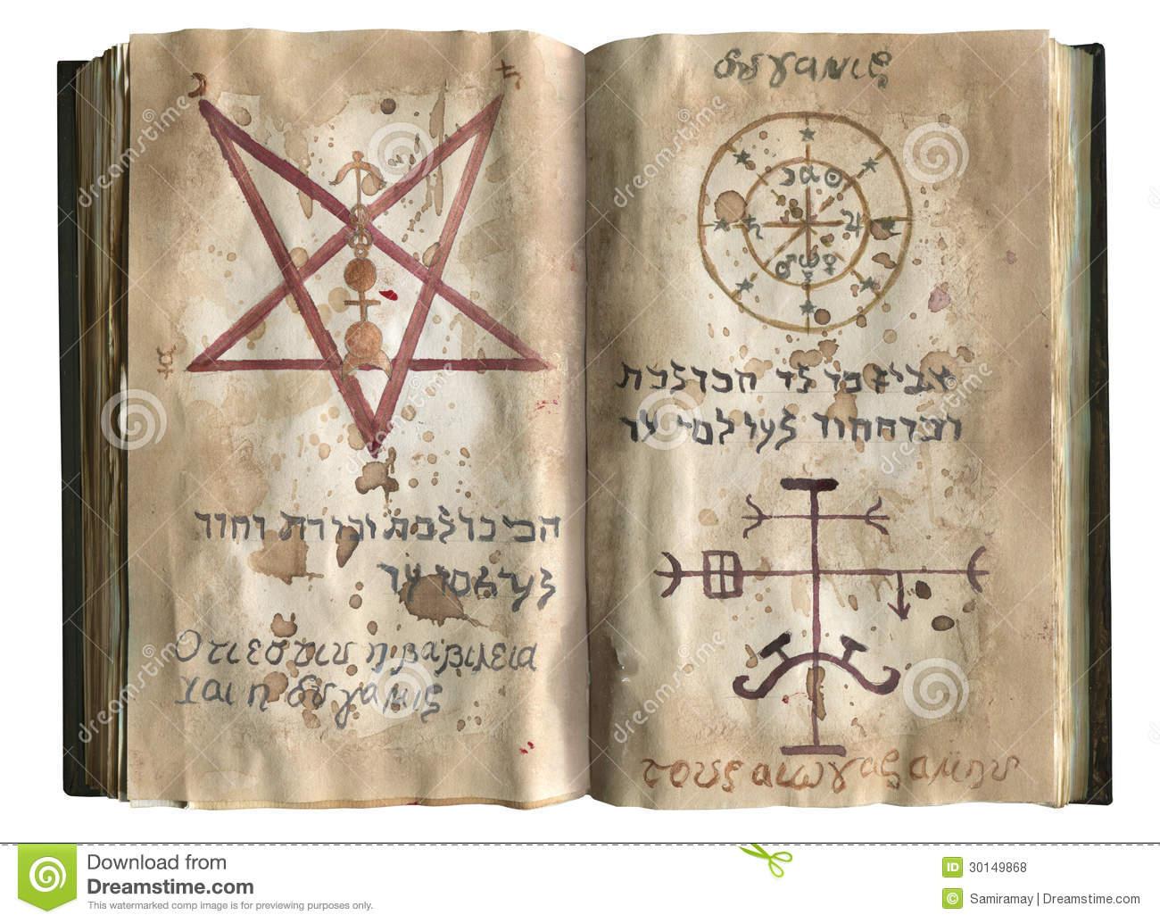 pages-old-magic-book-mystic-symbols-30149868