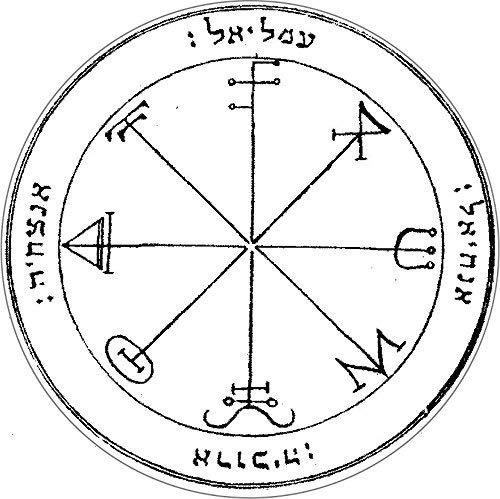Third pentacle of saturn
