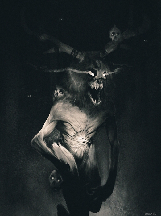 Lurking in the Dark [ An old Skinwalker story ] - Spirits, Evocation