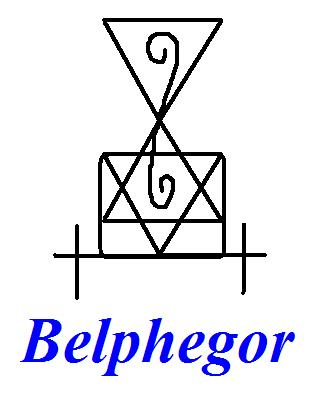 Belphegor evocation sigil - Spirits, Evocation & Possession - Become