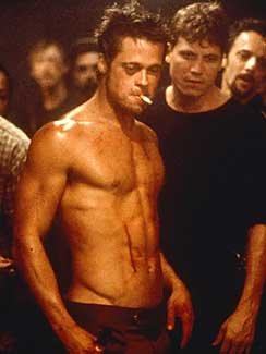 how_much_does_brad_pitt_weigh_in_fightclub_shirtless_mwgmedia