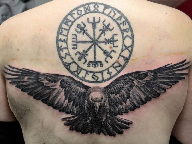 fab0c61817c35dfb825ca34f43d2da26--viking-tattoos-raven-tattoo-celtic